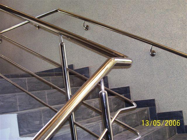 Виготовлення поручнів. Поручні металеві №4