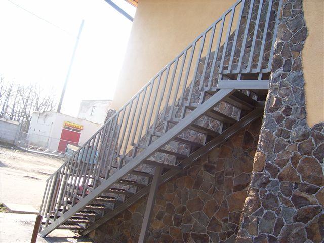 Виготовлення сходів. Зовнішні сходи №7